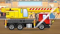 Diggers Cartoons: The Yellow Excavator - Episodes with vehicles - Cartoons for kids
