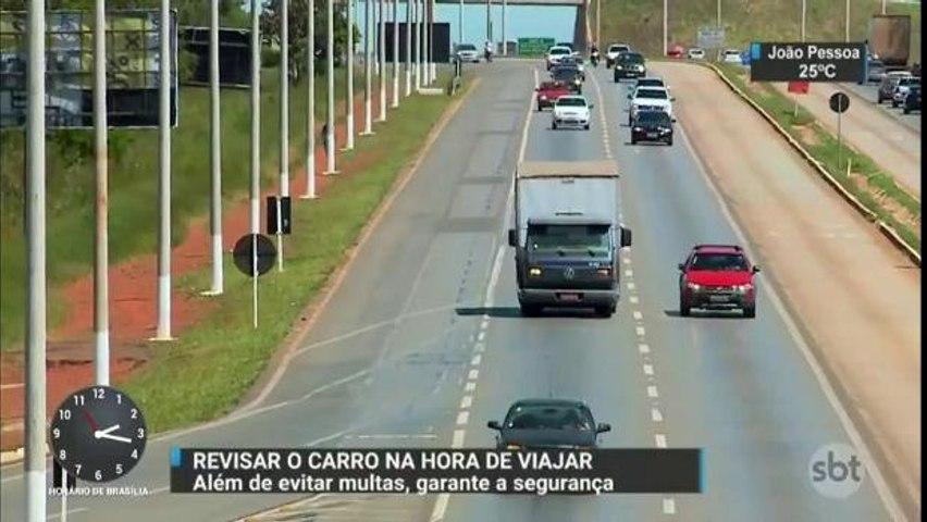 Revisar os veículos antes de viajar pode evitar acidentes