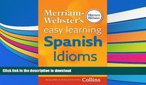 Download Easy Learning Spanish Idioms Collins Easy Learning