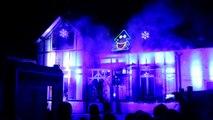 Chauny: son et lumière de Noël chez un particulier