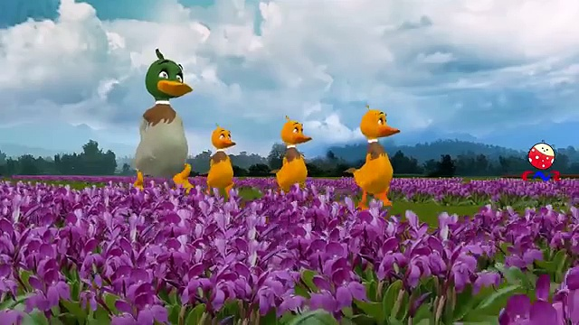 Five Little Ducks Went Out One Day Nursery Rhymes for Children | Five Little Ducks Rhymes for Babies