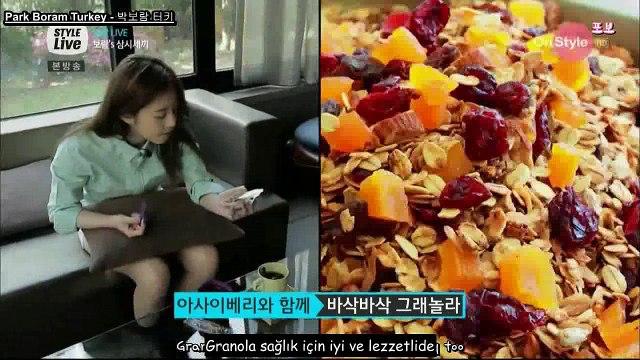 [TRSUB] Style Live 17. Bölüm Park Boram Kesiti