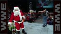 d' drops Santa Claus with a Stunner - Raw, Dec. 22, 1997