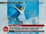 24 Oras: Maine Mendoza, gumanap na Snow Queen Elsa sa 2016 Calendar ng Disney Channel Asia