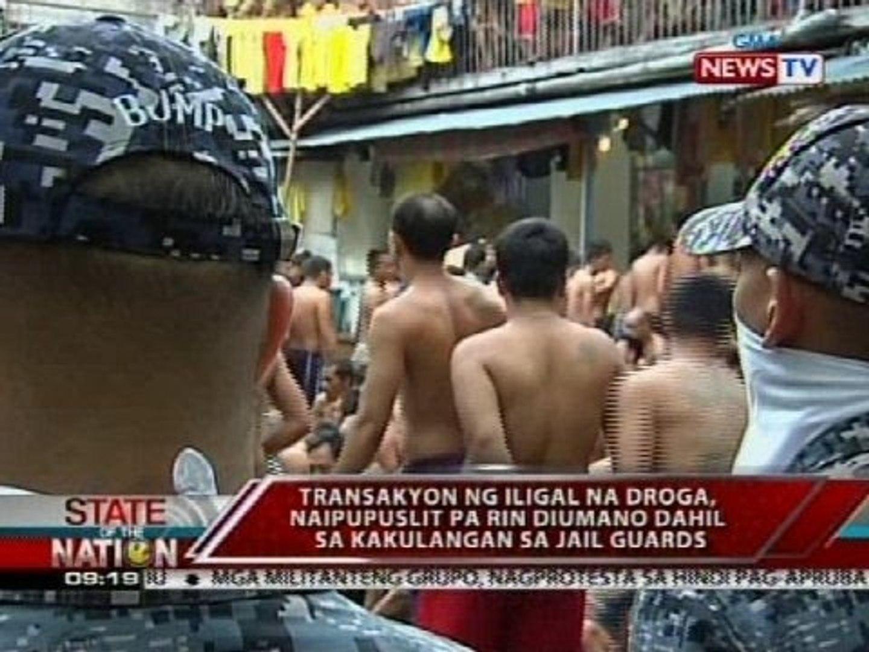 SONA: Samu't saring kontrabando, nasabat sa Manila at QC City Jails
