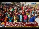 UB: Ati-atihan Festival, libo-libong deboto ang dumalo