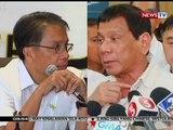 SONA: Roxas at Duterte, muling nagpatutsada laban sa isa't isa