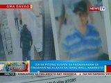 Isa sa pitong suspek sa pagnanakaw sa tindahan ng alahas sa isang mall sa Tagum City, naaresto