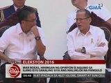 24 Oras: Mar Roxas, kukunsultahin si PNoy sa ilang isyu sakaling siya ang maluklok na pangulo
