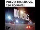 Volvo trucks vs. 750 tonnes!