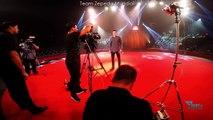 David Zepeda backstage Circo Hermanos Vázquez - Atlanta 2015
