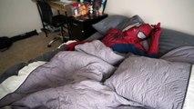 Spiderman vs Zombie Spiderman Orbeez Bath Time SuperHero fun in Real life