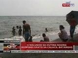QRT: 5 nalunod sa outing noong Huwebes Santo sa Calaca, Batangas