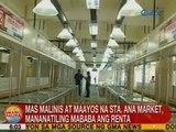 UB: Mas malinis at maayos na Sta. Ana Market, mananatiling mababa ang renta