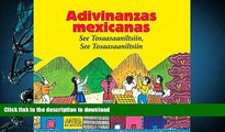 Free [PDF] Download  Adivinanzas Mexicanas/ Mexican Riddles: See Tosaasaaniltsiin, See