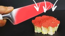 EXPERIMENT Glowing 1000 degree KNIFE VS MATCHES | See What Happens |