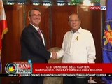 SONA: US Defense Sec. Carter, nakipagpulong kay PNoy