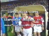 20.04.1995 - 1994-1995 UEFA Cup Winners' Cup Semi Final 2nd Leg UC Sampdoria 3-2 Arsenal (With Penalties 2-3)
