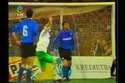 15.04.1992 - 1991-1992 UEFA Cup Winners' Cup Semi Final 2nd Leg SV Werder Bremen 2-0 Club Brugge