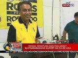 SONA: Roxas, ikinatuwa ang pag-angat sa pinakabagong survey ng Pulse Asia