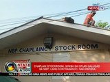 SONA: Chaplain stockroom, giniba sa Oplan Galugad sa NBP; ilang kontrabando, nakumpiska