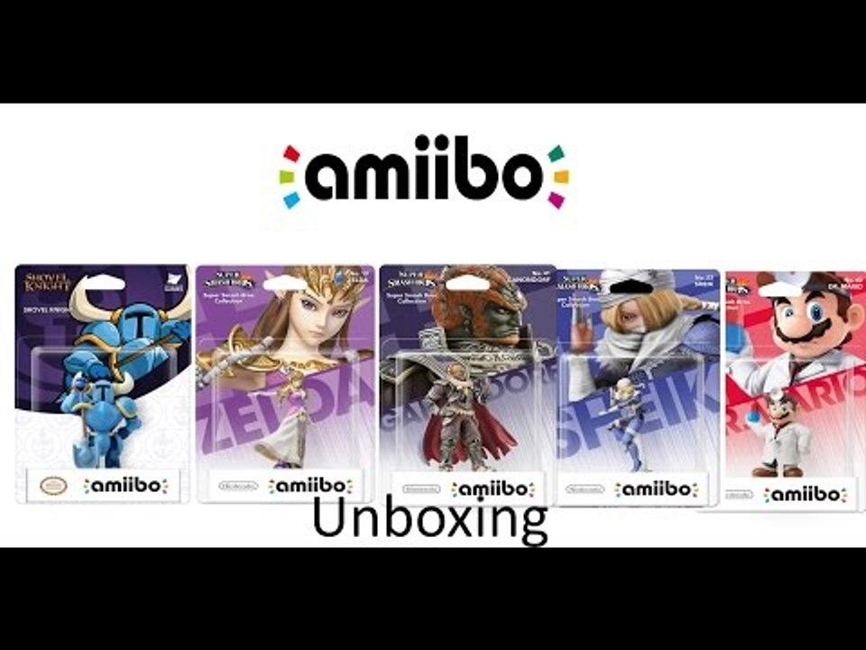 Shovel Knight Zelda Ganondorf Shiek Dr Mario Amiibo