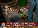 UB: Lalaking gumagamit umano ng illegal na droga, patay sa pamamaril sa Malabon City