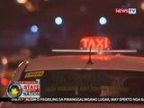 Duterte: Posibleng sampahan ng estafa ang mga taxi driver na hindi nagsusukli sa mga pasahero
