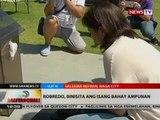 Rep. Leni Robredo, binisita ang puntod ng asawang si dating DILG Sec. Jesse Robredo