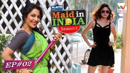 Maid In India S02 E02(Web Series): Saali Adhi Gharwali | Web Talkies