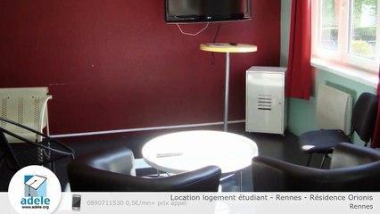 Location logement étudiant - Rennes - Résidence Orionis