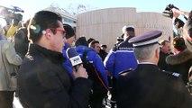 D!CI TV : Hautes-Alpes : Les premiers mots du ministre de l'intérieur Bruno Le Roux, en visite à Montgenèvre et Brianço