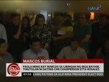 Paglilibing kay Marcos sa Libingan ng mga Bayani, tinutulan ni dating CHR Chairperson Etta Rosales