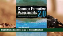 READ book  Common Formative Assessments 2.0: How Teacher Teams Intentionally Align Standards,