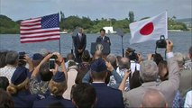 Japan's Prime Minister visits Pearl Harbour