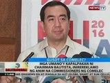 Mga umano'y kapalpakan ni chairman Bautista, inirereklamo ng anim na commissioners ng Comelec