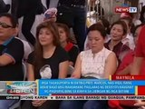 BP: Mga dating tagasuporta ni dating Pres. Marcos, nag-vigil