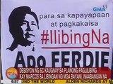 Desisyon ng SC kaugnay sa planong paglilibing kay Marcos sa Libingan ng mga Bayani, inaabangan na