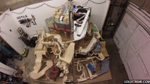 Marble Mountain, a themed marble machine