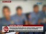 Mga pulis na isinuplong ng 3 drug pusher, lumantad at itinangging sangkot sila sa iligal na droga