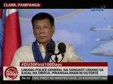 24 Oras: Limang police general na sangkot umano sa iligal na droga, pinangalanan ni Duterte