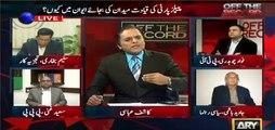 Kashif Abbasi and Fawad Ch give tough time to Javed Hashmi