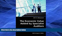 PDF  The Economic Value Added by Specialist Auditors- Hypothesis, Sample and Data, Results Ali R.
