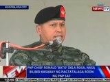 NTVL: PNP chief Ronald 'Bato' Dela Rosa, nasa Bilibid kasabay ng pagtatalaga roon ng PNP-SAF