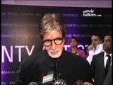 Amitabh Bachchan, Jaya Bachchan And Abhishek Bachchan At Big B Painting Exhibition