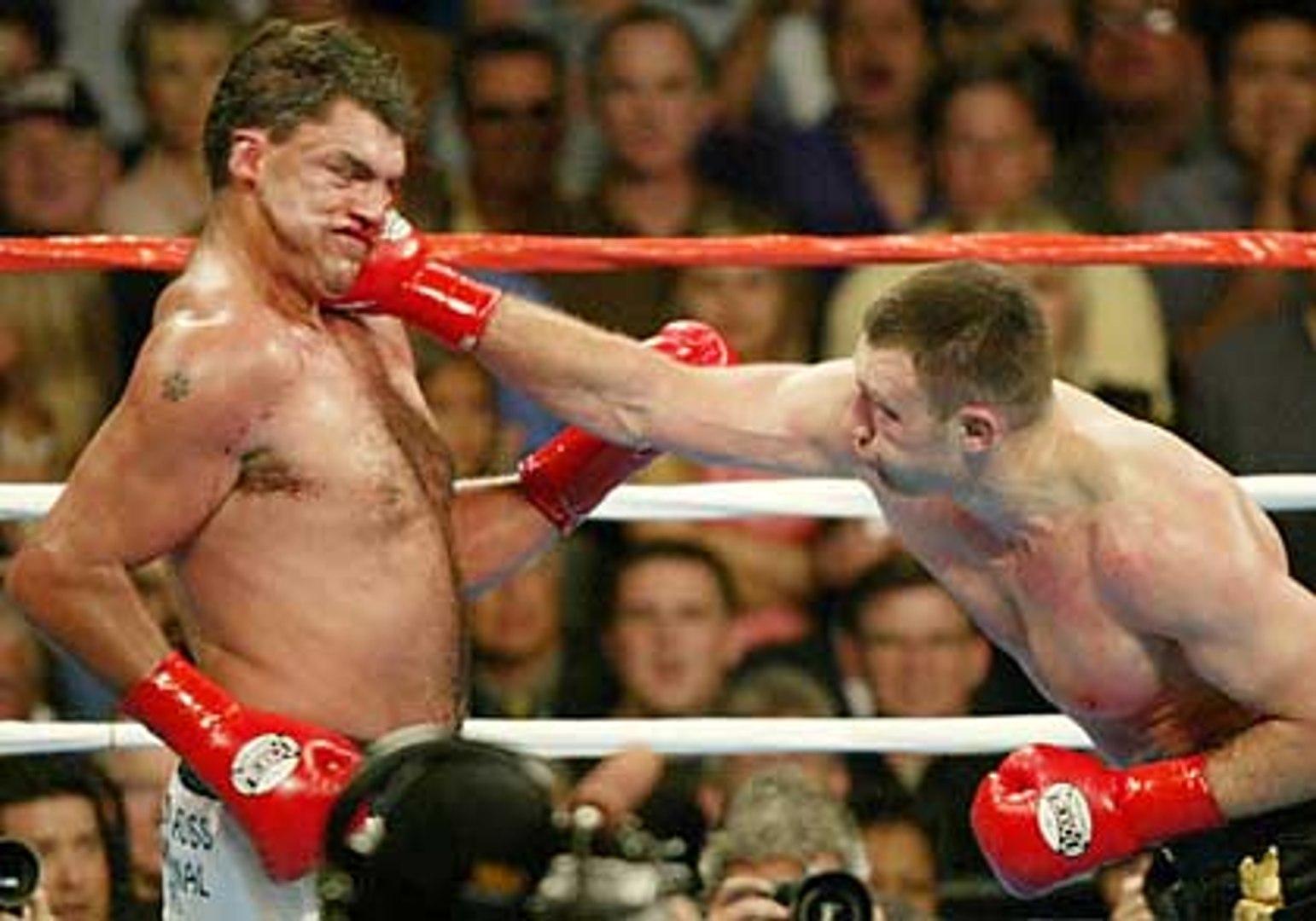 Бокс Как Виталий Кличко Корри Сандерсу за брата младшего отомстил!