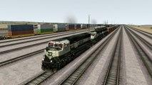 Train Simulator 2017 Gameplay EMD SD70 MAC BNFS Freight Train RETURN OF THE MAC