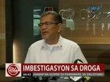 24 Oras: DILG: May sapat nang ebidensya laban sa 2 PNP generals na sangkot umano sa droga