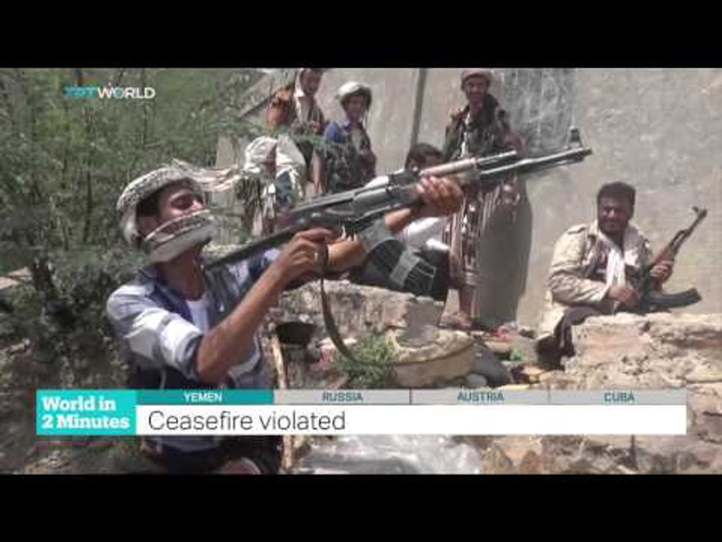 TRT World - World in Two Minutes, 2015, December 15, 15:00 GMT