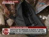 24 Oras: Shotgun na ibinaon sa bukid at baril sa balde, kay Kerwin Espinosa rin daw
